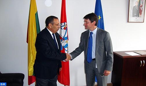 الوضع المتقدم في صلب المشاورات بين المغرب والرئاسة الليتوانية للاتحاد الأوروبي
