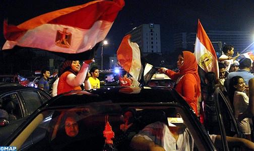 """""""خريطة مستقبل""""مصر تتجاوز منتصف الطريق بعد انتهاء التصويت في الانتخابات الرئاسية"""