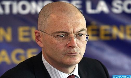 سفير الاتحاد الأوروبي بالمغرب روبيرت جوي يحل غدا الخميس ضيفا على اللقاءات الدبلوماسية لوكالة المغرب العربي للأنباء