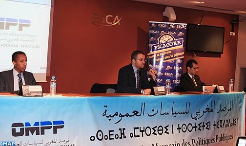 المرصد المغربي للسياسات العمومية يقدم بالدار البيضاء تقريره نصف السنوي الأول حول السياسات العمومية