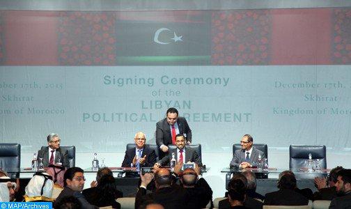 وزراء خارجية دول جوار ليبيا يشددون على ضرورة التمسك بالاتفاق السياسي الليبي الموقع في مدينة الصخيرات