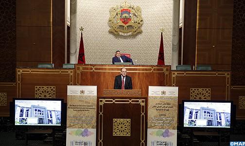 المنتدى البرلماني الدولي للعدالة الاجتماعية يعتمد مشروع مبادئ توجيهية لإعادة بناء المنظومة الوطنية للحوار الاجتماعي
