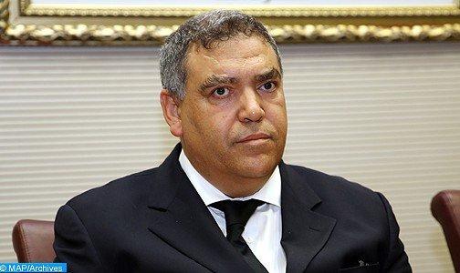 وزارة الداخلية حريصة على مواصلة دعم الاجهزة الامنية لتحديثها والرقي بعملها (السيد لفتيت)