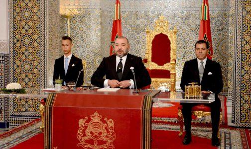 جلالة الملك يوجه خطابا ساميا إلى الأمة بمناسبة حلول الذكرى 18 لتربع جلالته على عرش أسلافه المنعمين