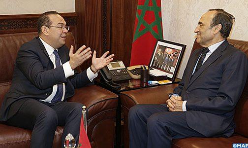 حقوق الانسان والدفاع عن الحريات محور مباحثات مغربية تونسية بالرباط