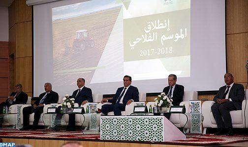 مكناس.. إعطاء الانطلاقة الرسمية للموسم الفلاحي 2017-2018