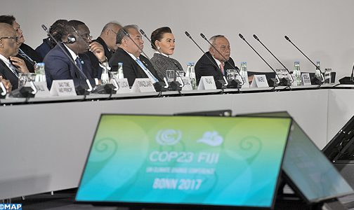 صاحبة السمو الملكي الاميرة للا حسناء تمثل جلالة الملك في مراسم افتتاح الشق الرفيع المستوى لمؤتمر كوب 23