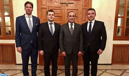 السيد المالكي يبحث مع وفد برلماني هنغاري آفاق تعزيز التعاون بين البلدين