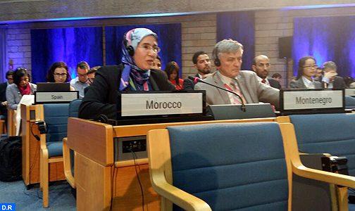 تعزيز التعاون البيئي محور مباحثات السيدة الوافي على هامش الجمعية الثالثة للأمم المتحدة للبيئة بنيروبي