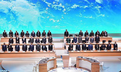 افتتاح اشغال القمة الدولية حول المناخ بباريس