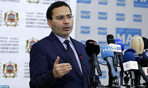 القضية الفلسطينية : المغرب كان سباقا للتعبير عن المواقف اللازمة في الوقت المناسب (الخلفي)