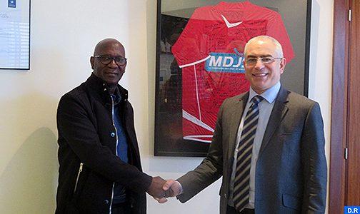 المغربية للألعاب و الرياضة توقع اتفافية شراكة مع اليانصيب الوطني لغينيا بيساو