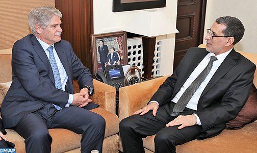 رئيس الحكومة يشيد بمستوى العلاقات الاستراتيجية بين المغرب واسبانيا