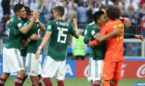 مونديال 2018: المنتخب المكسيكي يهزم نظيره الألماني بهدف للاشيء