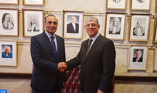 السيد الحبيب المالكي يتباحث بسيدني مع رئيس البرلمان الجهوي لمنطقة ساوث ويلز الجنوبية