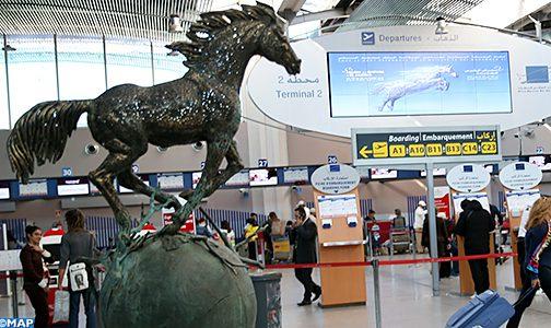مطار محمد الخامس الدولي للدار البيضاء يستضيف معرضا لأعمال فنية حول الفرس