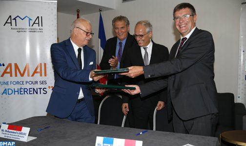 الدار البيضاء .. توقيع اتفاقية شراكة بين مهنيي الوكالات العقارية بالمغرب وفرنسا لتعزيز التعاون في مجال الأعمال