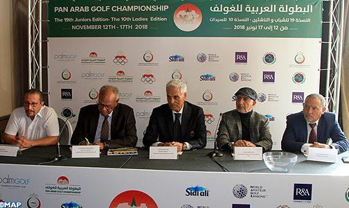الدار البيضاء .. تقديم الفرق المشاركة في البطولة العربية للغولف لفئتي الناشئين و الكبيرات