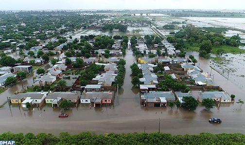 الأرجنتين..إجلاء أزيد من 1800 شخص جراء الفيضانات التي تجتاح إقليم بوينوس أيريس