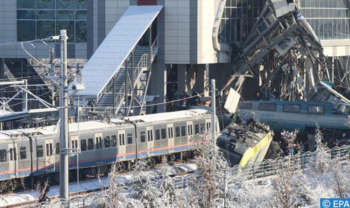 أنقرة.. مصرع 7 أشخاص في حادث قطار وإصابة 46 آخرين بينهم 3 في حالة حرجة