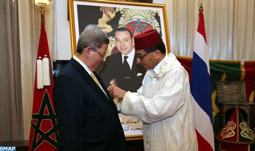تسليم وسام ملكي لسفير تايلاند السابق بالمغرب