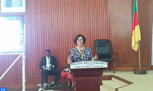 السيدة أخرباش تدعو من ياوندي إلى تعزيز قدرات المقننين الأفارقة للاستجابة لتحديات التحول الرقمي