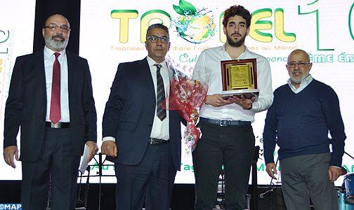 أكادير : توزيع جوائز الدورة العاشرة للجائزة الوطنية للخضر والفواكه (تروفيل 2019)