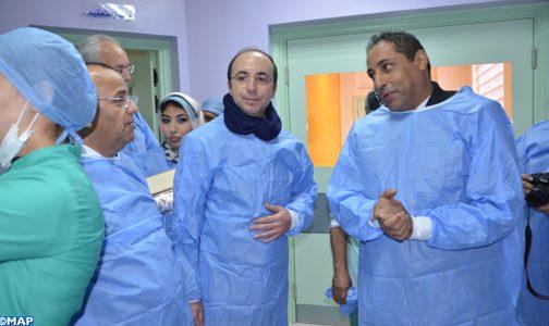 تدشين المركب الجراحي التابع للمركز الاستشفائي لعمالة إنزكان ايت ملول