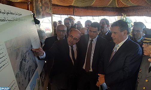 إقليم الناظور.. السيد أخنوش يعطي انطلاقة أشغال إنجاز محطة لضخ المياه على وادي ملوية