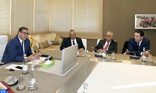مخطط المغرب الأخضر .. السيد أخنوش يلتقي برؤساء الغرف الفلاحية بالمملكة