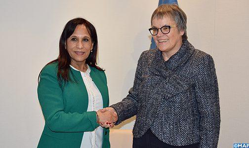 """رئيسة الجمعية البرلمانية لمجلس أوروبا تشيد ب""""التقدم الأكيد """" للمغرب في مجال حقوق الإنسان"""