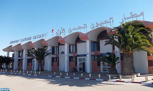 مطار الحسن الأول بالعيون..ارتفاع في حركة النقل الجوي بنسبة 7.52 في المائة خلال سنة 2018