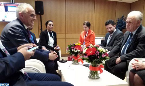 المغرب واليونان يبحثان سبل الارتقاء بالعلاقات الثنائية إلى مستوى أعلى