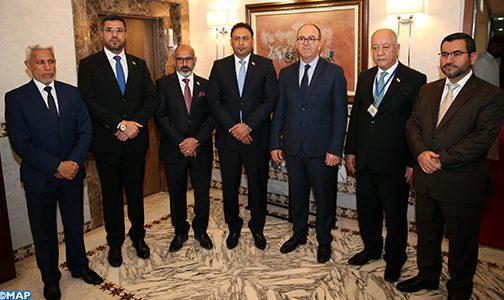 تكثيف التنسيق في مختلف المحافل البرلمانية في صلب مباحثات السيد بن شماش مع النائب الأول لرئيس مجلس النواب العراقي