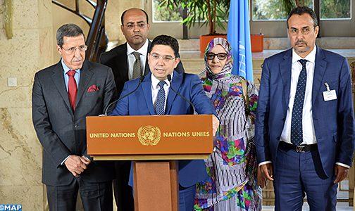 """الصحراء المغربية: المغرب يأمل في """"انخراط الأطراف الأخرى بإرادة حقيقية بعيدا عن لغة الماضي والمقاربات المتجاوزة"""""""