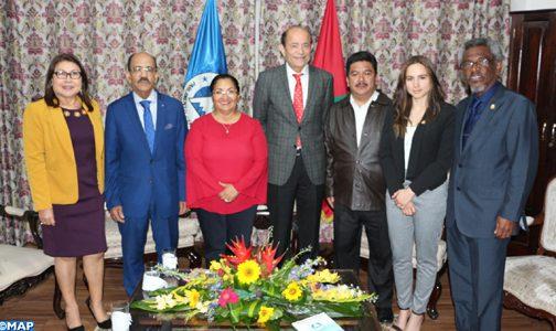 رئيسة برلمان أمريكا الوسطى: إعلان العيون وثيقة مرجعية في علاقة البرلاسين بالبرلمان المغربي