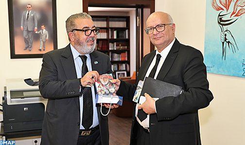 وكالة المغرب العربي للأنباء واللجنة الوطنية لمراقبة حماية المعطيات ذات الطابع الشخصي تبحثان سبل تطوير التعاون بينهما