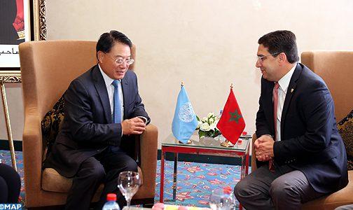 المدير العام لمنظمة الأمم المتحدة للتنمية الصناعية يشيد بمسلسل التصنيع بالمغرب