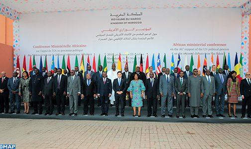 مراكش.. انطلاق أشغال المؤتمر الوزاري الإفريقي حول الدعم المقدم من الاتحاد الإفريقي للمسار السياسي للأمم المتحدة بشأن الخلاف الإقليمي حول الصحراء المغربية