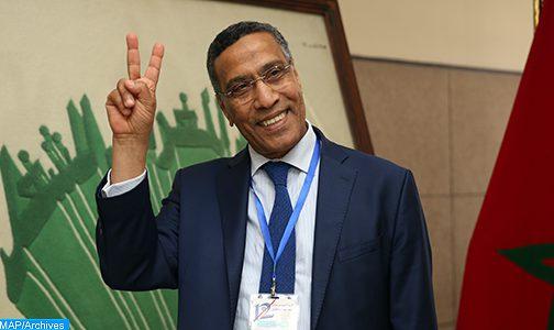 تجديد الثقة في السيد ميلودي مخاريق أمينا عاما للاتحاد المغربي للشغل لولاية ثالثة