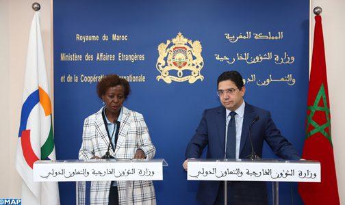 العلاقة بين المغرب والمنظمة الدولية للفرنكوفونية متميزة وتتسم بتقارب وجهات النظر (الأمينة العامة للمنظمة)