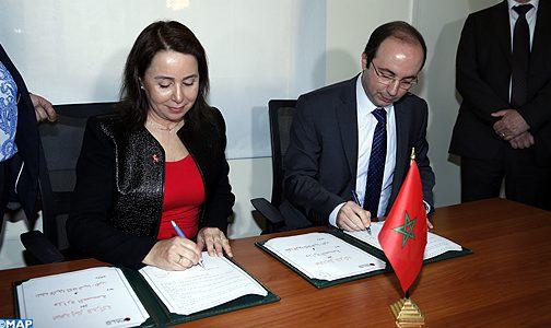 توقيع اتفاقية شراكة بين وزارة الصحة والمنظمة الإفريقية لمكافحة السيدا في مجال الصحة الجنسية والإنجابية