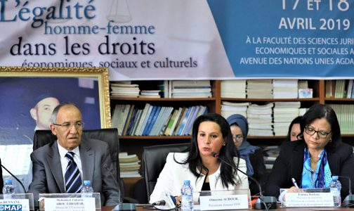 الرباط..انطلاق الجامعة الأولى حول المساواة بين المرأة والرجل في الحقوق الاقتصادية والاجتماعية والثقافية