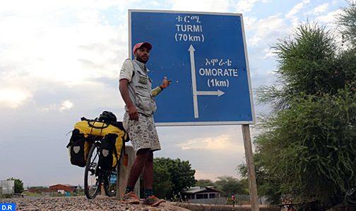 الرحالة المغربي ياسين غلام، بعد رحلة قادته ل 25 بلدا إفريقيا ، حلم الوصول إلى آسيا وأمريكا الجنوبية بات يلوح في الأفق