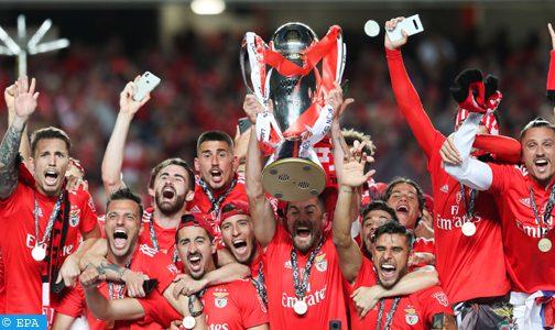 بطولة البرتغال لكرة القدم .. بنفيكا يحرز اللقب الـ37 في تاريخه