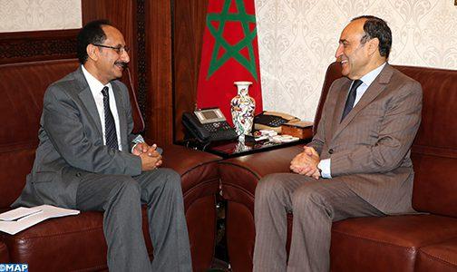 السفير اليمني بالرباط يعبر عن تقدير بلده لموقف المغرب الداعم لاستقرار اليمن