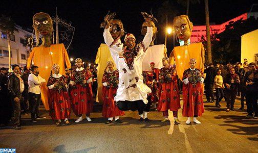 انطلاق فعاليات المهرجان الوطني لفنون الشارع الذي تحتضنه مدينة فاس على مدى ثلاثة أيام