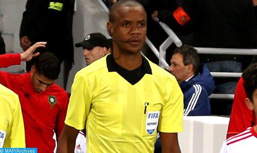 ذهاب نهائي كأس الكنفدرالية: الزامبي سيكازوي حكما لمباراة نهضة بركان والزمالك المصري