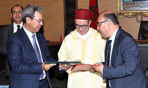 الرباط.. توقيع اتفاقية شراكة بين صندوق الإيداع والتدبير وهيئة المحامين بالدار البيضاء لإنشاء برنامج معلومياتي لمحاميي الهيئة