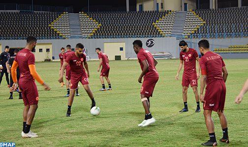 نهضة بركان يجري أول حصة تدريبية بالقاهرة استعدادا للقاء نادي الزمالك في إياب المباراة النهائية لكأس الكونفدرالية الإفريقية لكرة القدم